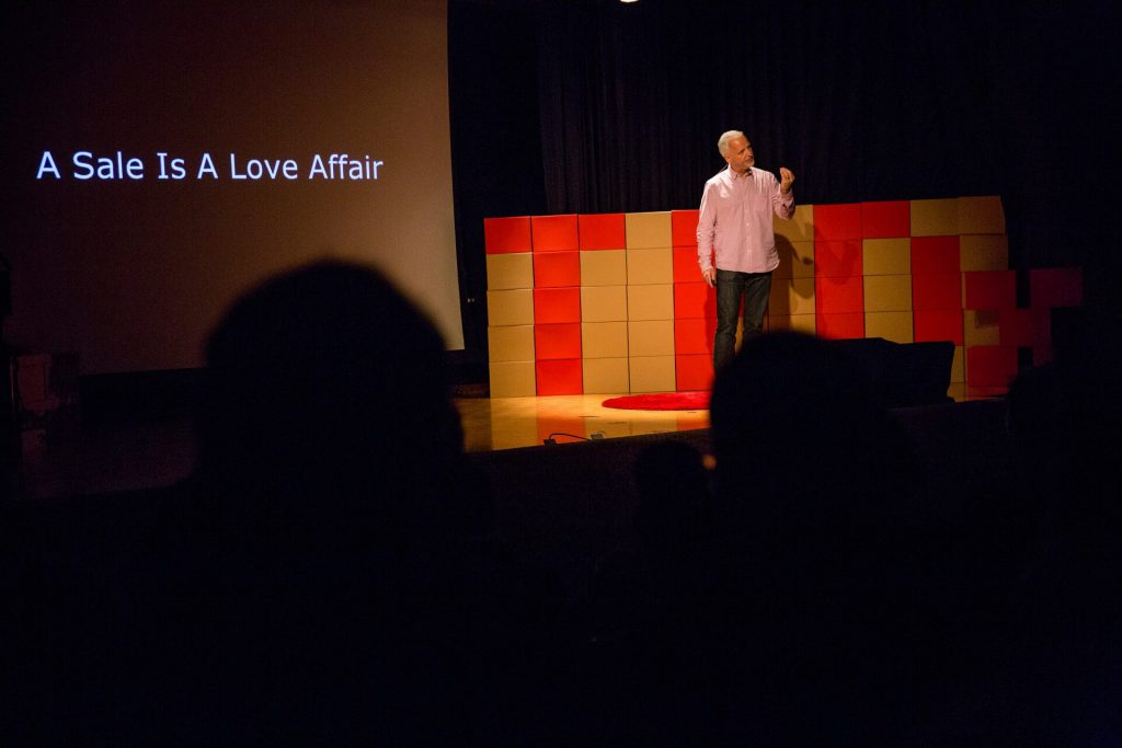 A Sale Is A Love Affair, TEDxLugano 2014
