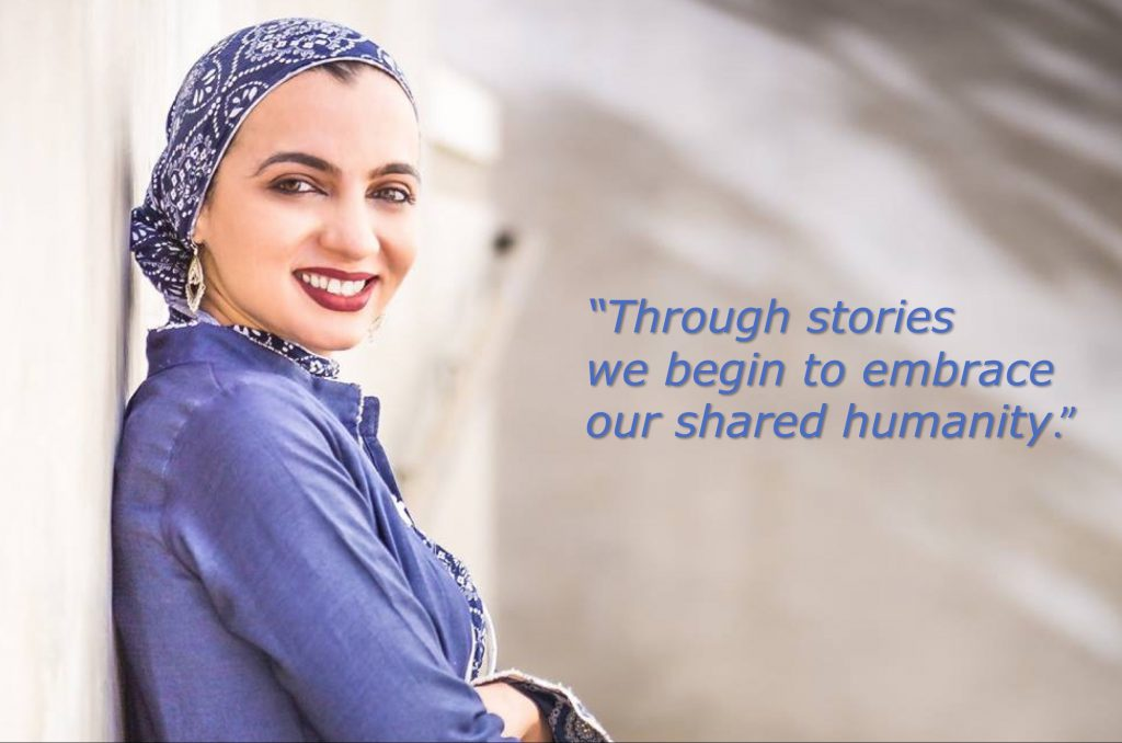 Story Warriors #008:  Sarah Khan Had To Take A Chance. Now She Wants You To