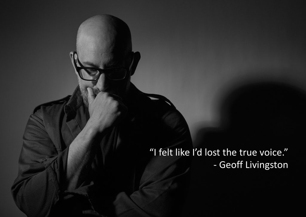 Story Warriors #010:  Geoff Livingston's Search For His True Voice